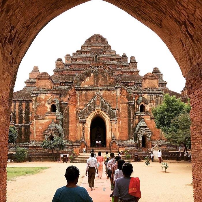 Những kiến trúc cổ nổi tiếng bậc nhất Myanmar