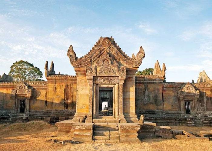 Đền Preah Vihear hàng nghìn năm tuổi của Campuchia. Ảnh: pinterest.ph
