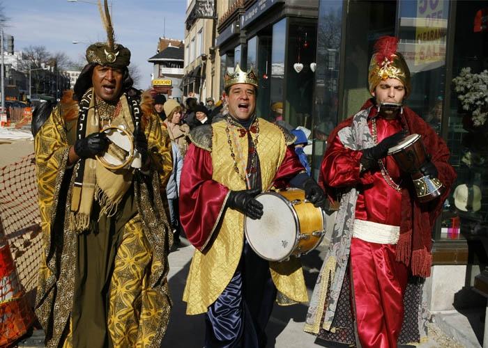 Ba vị vua Melchor, Gaspar và Baltasar. Ảnh: croftsmexico.blogspot.com
