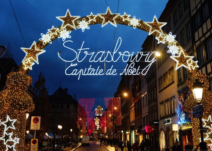 Chợ Giáng sinh Strasbourg. Ảnh: republicain-lorrain.fr