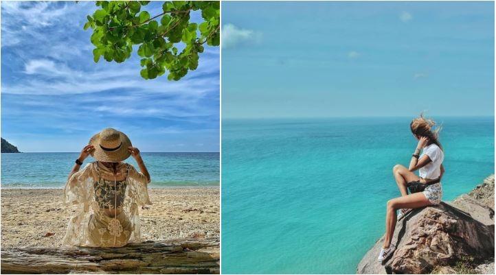 Những bãi biển đẹp ở Côn Đảo. Ảnh: Hynkahen, Dodoknitter.