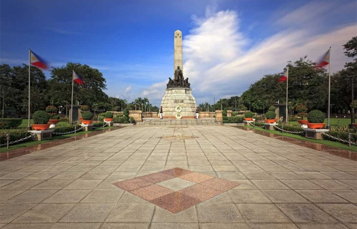 Công viên Rizal. Ảnh: gody.vn