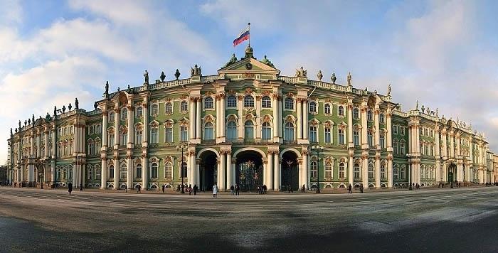 Cung điện mùa Đông - công trình vĩ đại nhất của nghệ thuật kiến trúc Nga. Ảnh: bestmaps.ru
