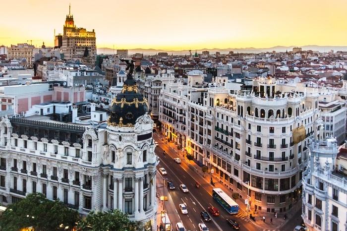 điểm du lịch ở Tây Ban Nha