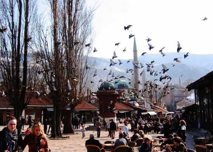 Sarajevo là thủ đô và là thành phố lớn nhất của đất nước Bosnia & Herzegovina. Ảnh: dulichchauau.org