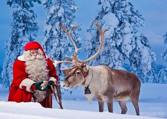 Gặp ông già Noel ở Rovaniemi. Ảnh: klook.com