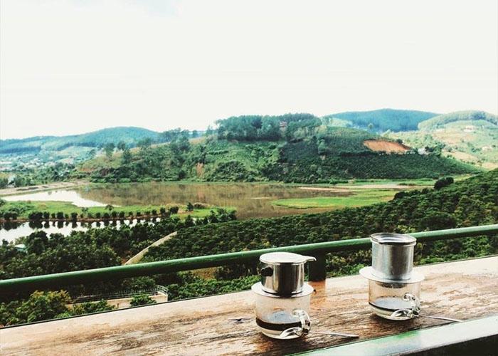 Cafe Mê Linh Garden. Ảnh: du-lich-da-lat.com