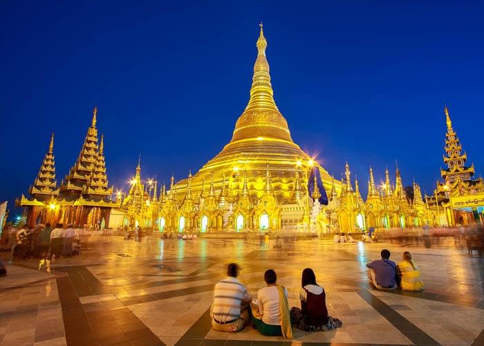 Thủ đô Yangon. Ảnh: Roughguides