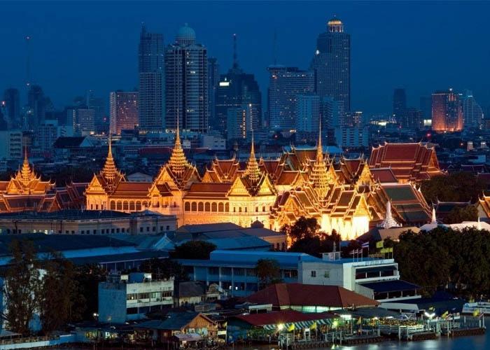 Bangkok tuyệt đẹp về đêm. Ảnh: thongtinthailan.com