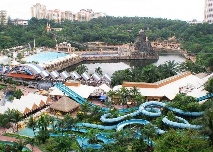 Công viên giải trí Sunway Lagoon. Ảnh: gody.vn