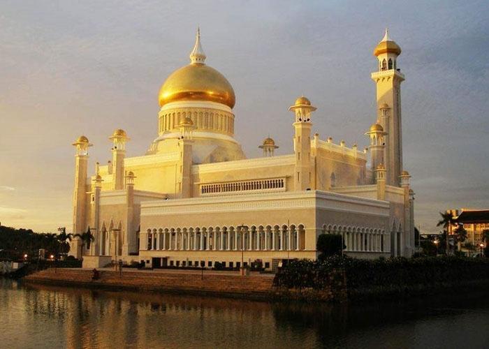 Cung điện Hoàng gia Brunei. Ảnh: Yong.vn