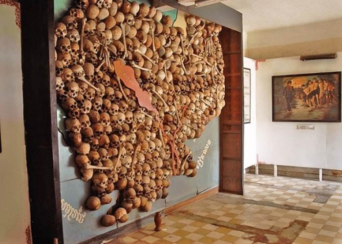 Bảo tàng diệt chủng Toul Sleng. Ảnh: bukalapak.com