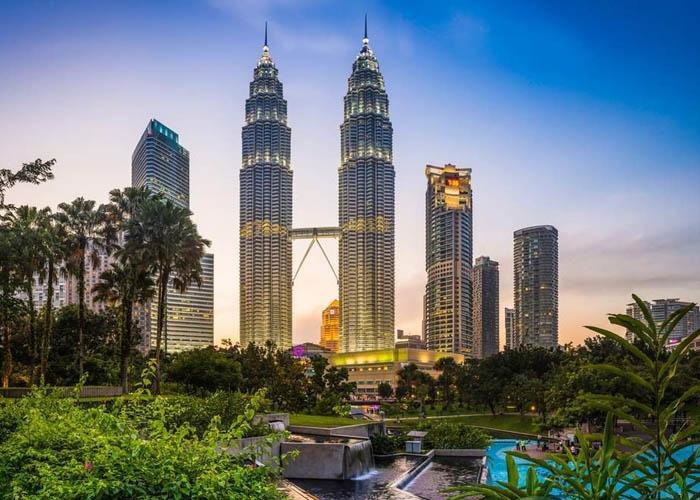 Tòa tháp đôi Petronas. Ảnh: Twitter.com