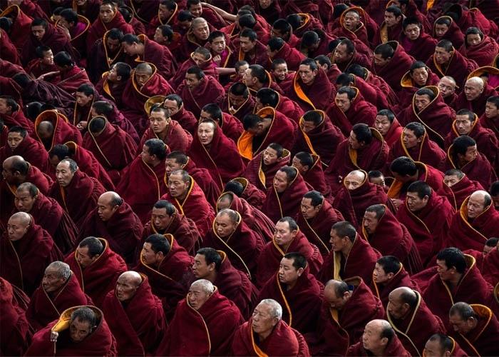 Tây Tạng là vùng đất của Phật giáo. Ảnh: boards.fireden.net