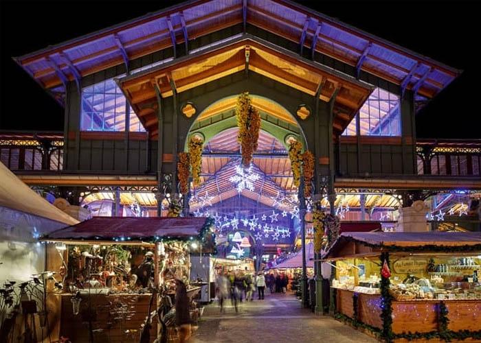 Chợ Giáng sinh ở Montreux