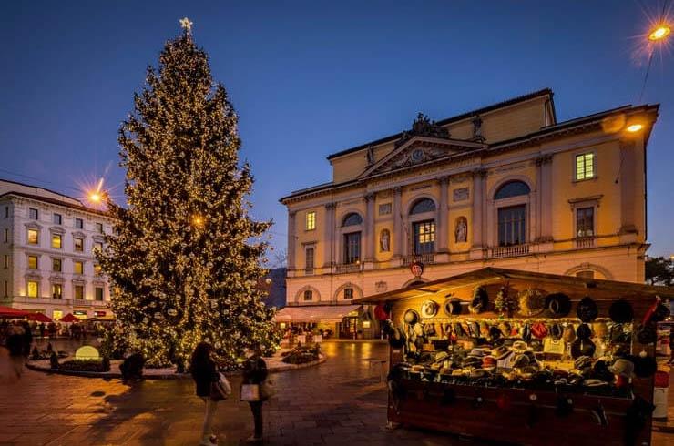 Lugano cũng là một trong những điểm đến Giáng sinh hàng đầu ở Thụy Sỹ.
