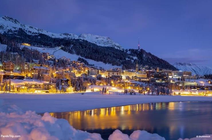 Engadin St Moritz được biết đến là khu nghỉ mát quyến rũ nhất Thụy Sỹ