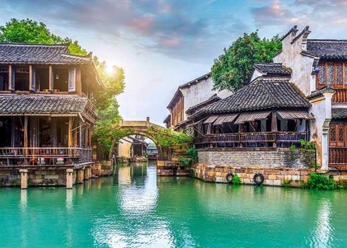 Ô Trấn được ví là Venice của phương Đông. Ảnh: chinamcloud.com