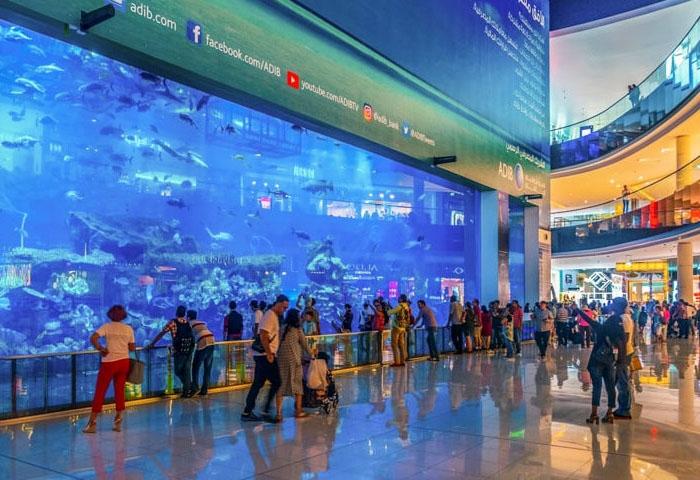 Dubai Mall – trung tâm thương mại lớn nhất thế giới. Ảnh: dubaiinformer.com