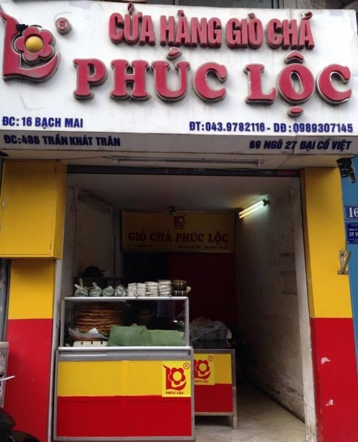 địa chỉ mua giò Tết chuẩn tại Hà Nội
