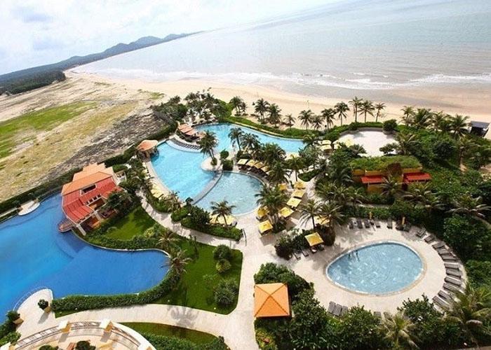 The Grand Hồ Tràm Strip là khu nghỉ dưỡng phức hợp mang đẳng cấp thế giới đầu tiên của Việt Nam