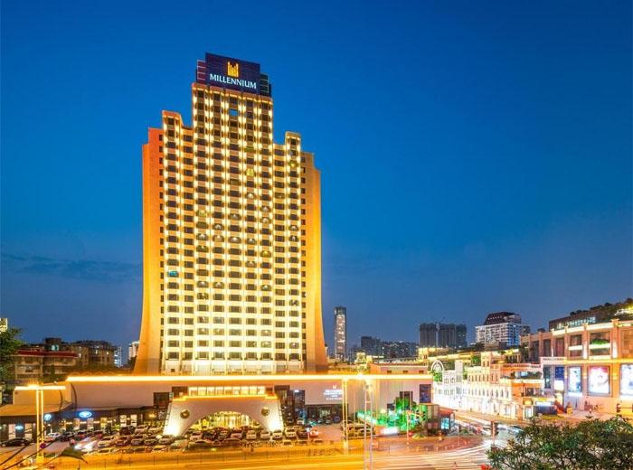 Khách sạn ở Hạ Môn. Ảnh: tourtrungquoc.net.vn