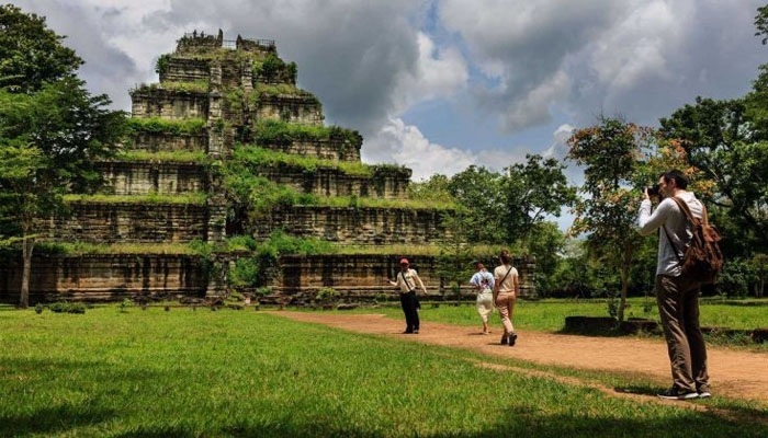 Koh Ker là cố đô của nền văn minh Angkor. Ảnh: inspiration.rehlat.com