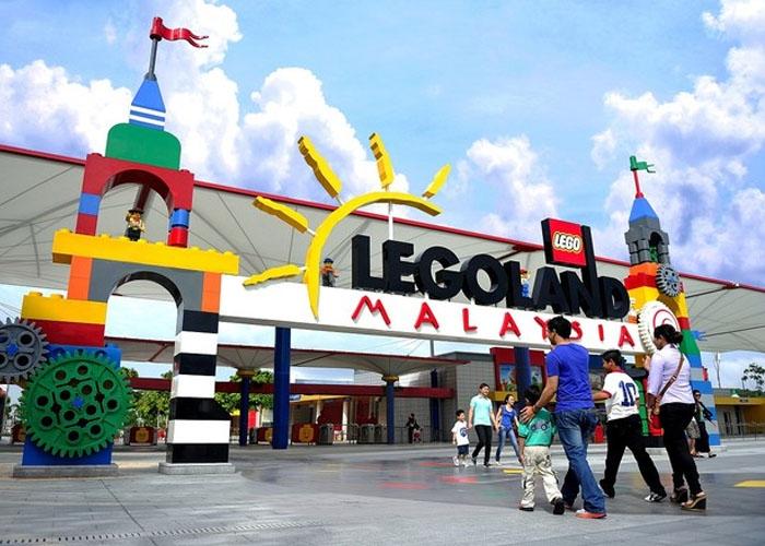 Công viên giải trí Legoland. Ảnh: snipe.cloud
