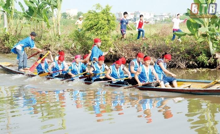 lễ hội tháng 10 Thái Bình