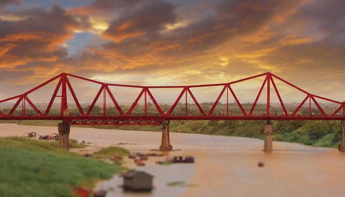 Cầu Long biên vào mùa Thu Hà Nội