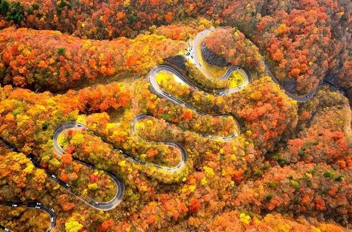 Irohazaka là tên gọi chung của 2 con đường quanh co nổi tiếng ở Nikko, Tochigi, phía bắc Nhật Bản.
