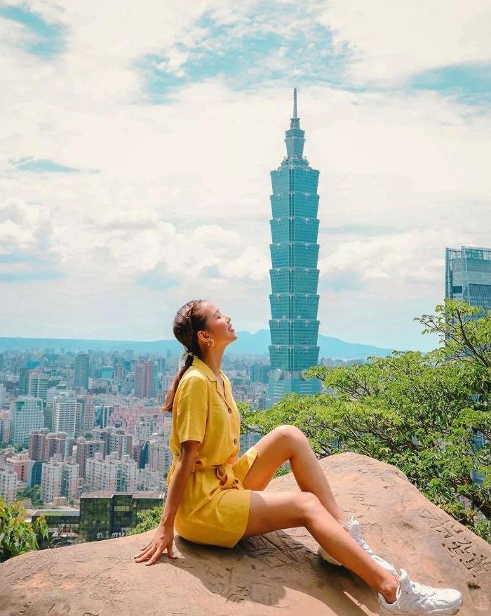 pháo hoa chào năm mới đẳng cấp ở Đài Bắc