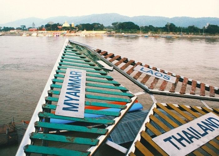 Tam Giác Vàng nằm ở biên giới 3 nước Lào, Thái Lan, Myanmar. Ảnh: travel186.com