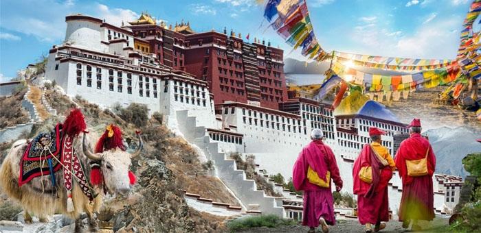 Tây Tạng còn được mệnh danh là nóc nhà châu Á. Ảnh: hstravel.vn