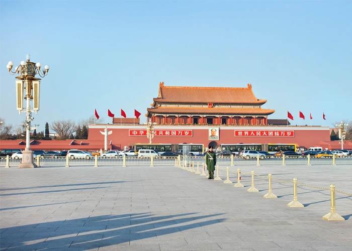 Quảng trường Thiên An Môn. Ảnh: Tony Vingerhoets/Alamy Stock Photo