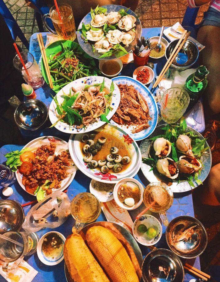 thiên đường ẩm thực Vạn Kiếp ở TP.HCM