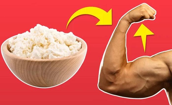 Dùng món ăn nhẹ giàu protein