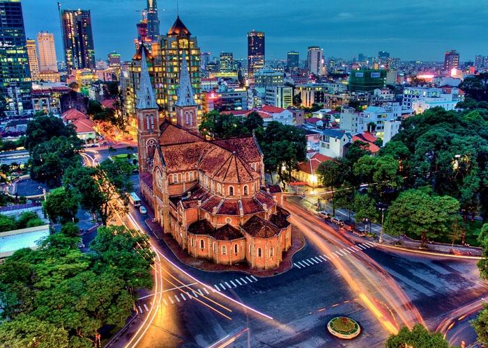 Thành phố năng động nhất Việt Nam. Ảnh: esquire.com