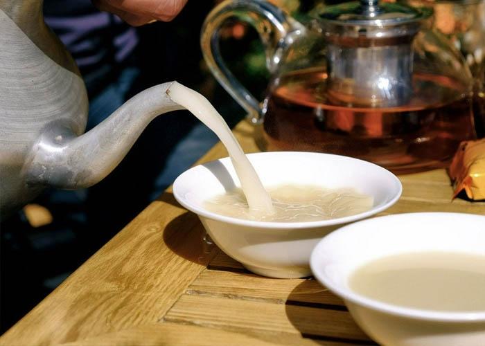 Trà bơ Tây Tạng. Ảnh: @allison_kershaw