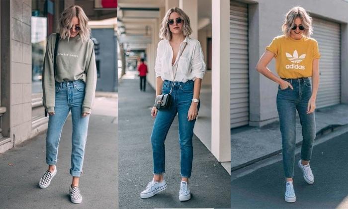 mix-ao-thun-voi-quan-jeans-skinny-la-cach-mix-do-voi-ao-thun-don-gian