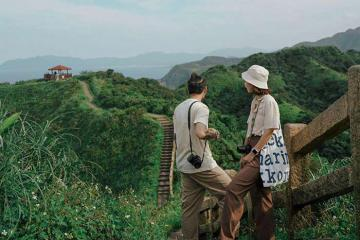Dừng chân ở con đường mòn hướng ra biển Bitou Cape, ngắm cảnh đẹp xứ Đài
