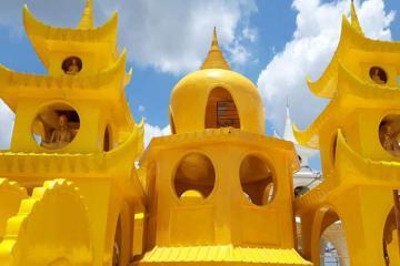 Khám phá ngôi chùa không nóc, không cột độc đáo ở Sài Gòn