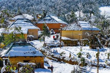 Lạc vào xứ sở thần tiên với những 'ngôi nhà nấm' ở Kin Chu Phìn, Lào Cai