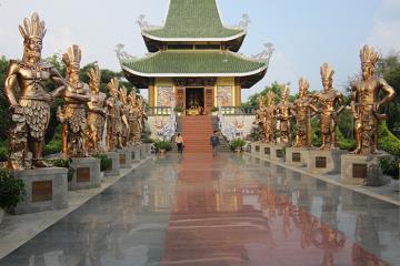 Khám phá công viên Đồng Xanh - không gian văn hóa của Tây Nguyên