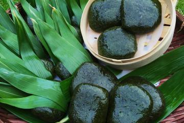 Bánh ngải của người Tày - nét ẩm thực độc đáo miền sơn cước Thái Nguyên