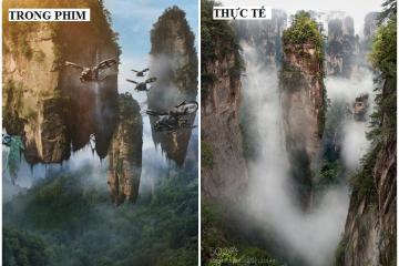 Địa điểm cực ảo trong loạt phim bom tấn hóa ra lại là bối cảnh ngoài đời thực