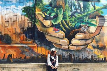 Cung đường bích họa Cảnh Dương, Quảng Bình - điểm đến mới khiến giới trẻ phát sốt