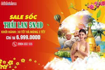 Vi vu đất Thái 5 ngày Tết, chi phí chưa đến 7 triệu đồng