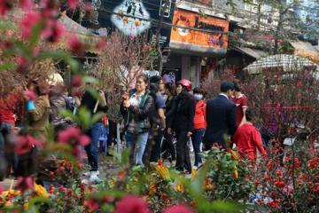 Hàng loạt tuyến phố Hà Nội cấm xe để tổ chức hội hoa xuân