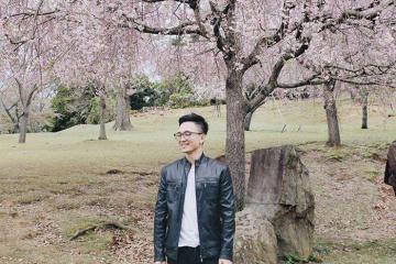 Theo chân 9x điển trai vi vu Nhật Bản ngắm hoa anh đào